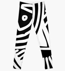 Abstract African Print Leggings