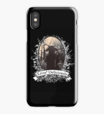 Livin' Deliciously iPhone Case