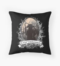 Livin' Deliciously Throw Pillow