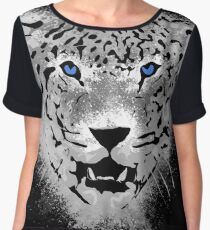 White Tiger - Paint Splatters Dubs Chiffon Top