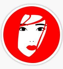 Japan / Japanese Geisha Sticker