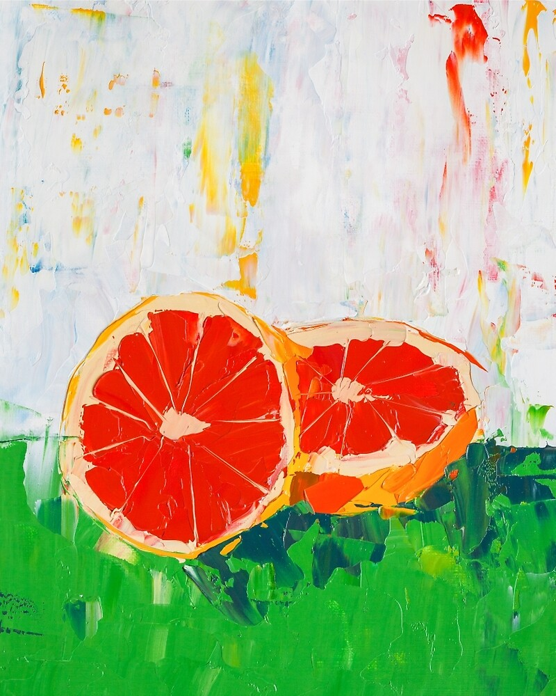 Like Shoving a Grapefruit in Your Face by ebuchmann