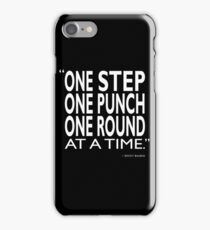 One Step One Punch One Round iPhone Case/Skin
