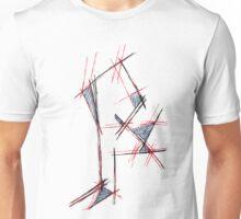 Red&blue Unisex T-Shirt
