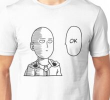One Punch Man / OPM - Saitama Ok Face Unisex T-Shirt