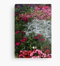 Mackinac Brigde Overlook Garden 2 Metal Print