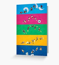 Simply Melee Poster One Greeting Card