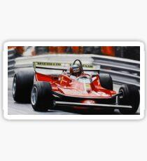 Gilles Villeneuve, Ferrari 312T4 Sticker