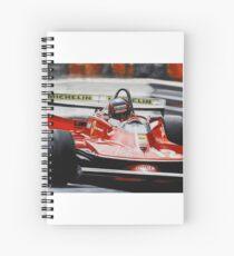 Gilles Villeneuve, Ferrari 312T4 Spiral Notebook