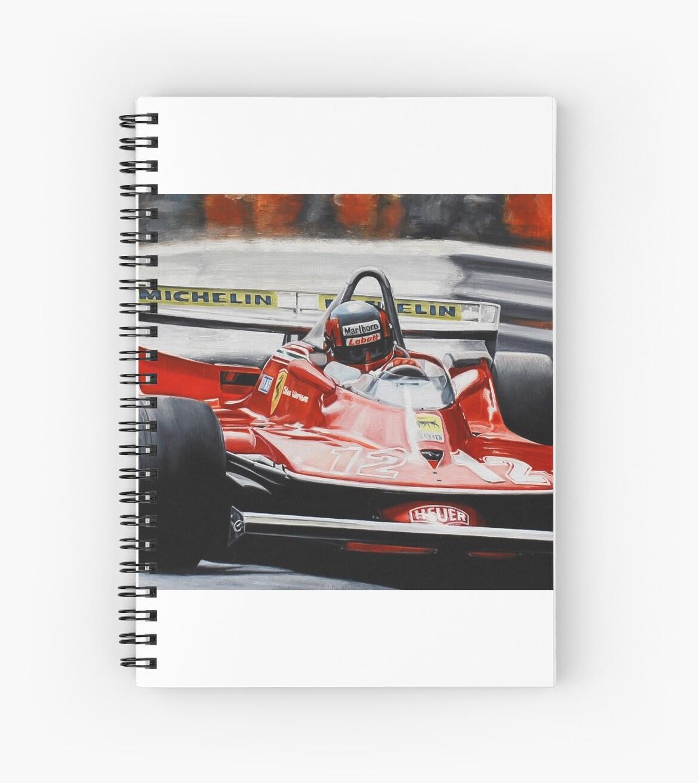 Gilles Villeneuve, Ferrari 312T4 by Artem Oleynik
