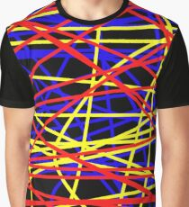 Primary Chaos Graphic T-Shirt