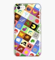 Smash Brothers Emblems iPhone Case/Skin