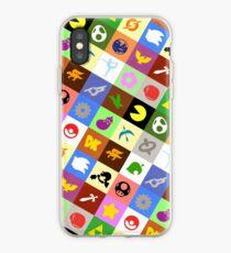 Smash Brothers Emblems iPhone Case