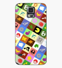 Smash Brothers Emblems Case/Skin for Samsung Galaxy