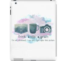 Bookstagram Obsession iPad Case/Skin