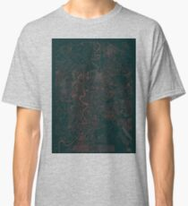 Rome Map Red Classic T-Shirt