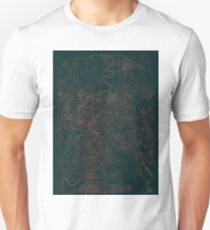Rome Map Red T-Shirt
