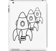 raketen junge spielzeug  iPad Case/Skin