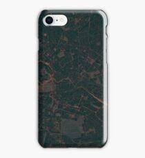 Berlin Map Red iPhone Case/Skin