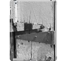 Barn Door Hinges 3 BW iPad Case/Skin