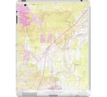 USGS TOPO Map Arkansas AR Caddo Valley 258104 1959 24000 iPad Case/Skin