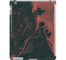 Copenhagen Map Red iPad Case/Skin