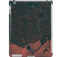 Toronto Map Red iPad Case/Skin