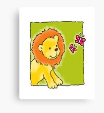 Sweet Lion Canvas Print