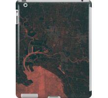 Melbourne Map Red iPad Case/Skin