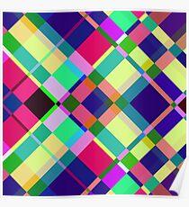 Pastel Collage Poster