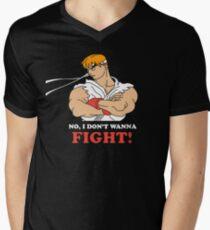 Dont wanna fight Men's V-Neck T-Shirt