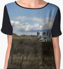 Picturesque View Chiffon Top