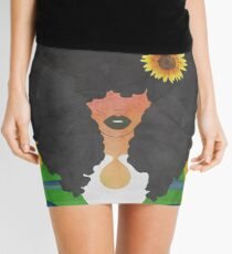 JOY AND SUNFLOWERS Mini Skirt