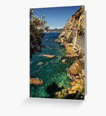 Ligurian Coast Greeting Card