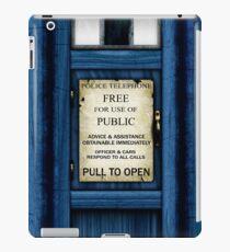 Free For Use Of Public - Tardis Door Sign - iPad Case iPad Case/Skin