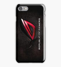 ROG - Republic of Gamers HQ iPhone Case/Skin