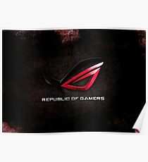 ROG - Republic of Gamers HQ Poster