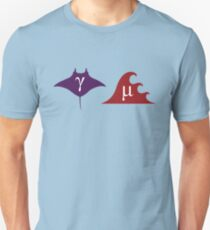 Gamma Ray and Micro Wave Unisex T-Shirt