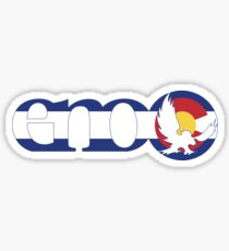 Eno Sticker Colorado Flag Sticker