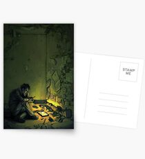 Claude & The Firefly Postcards