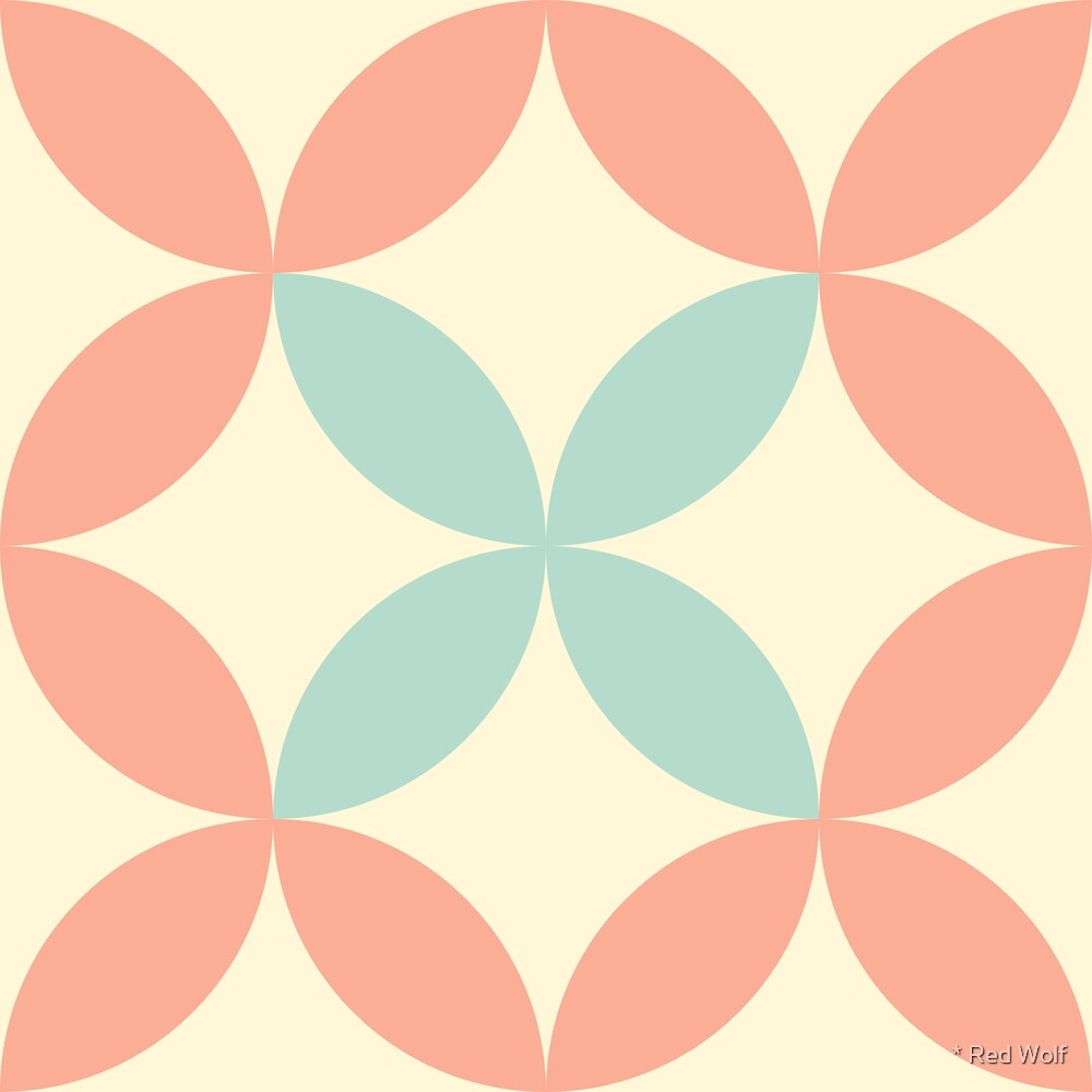Geometric Pattern: Circle Nested: Babcock by * Red Wolf