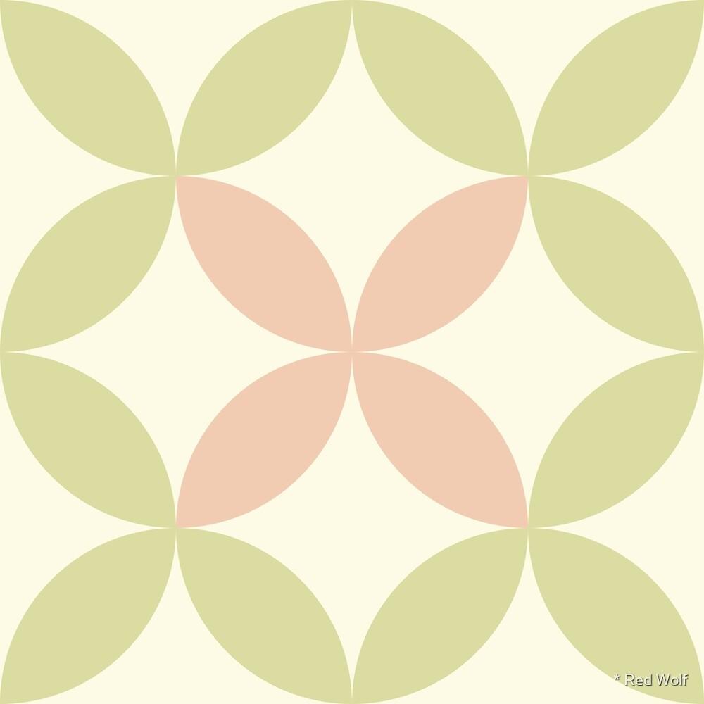 Geometric Pattern: Circle Nested: Dawsonia by * Red Wolf