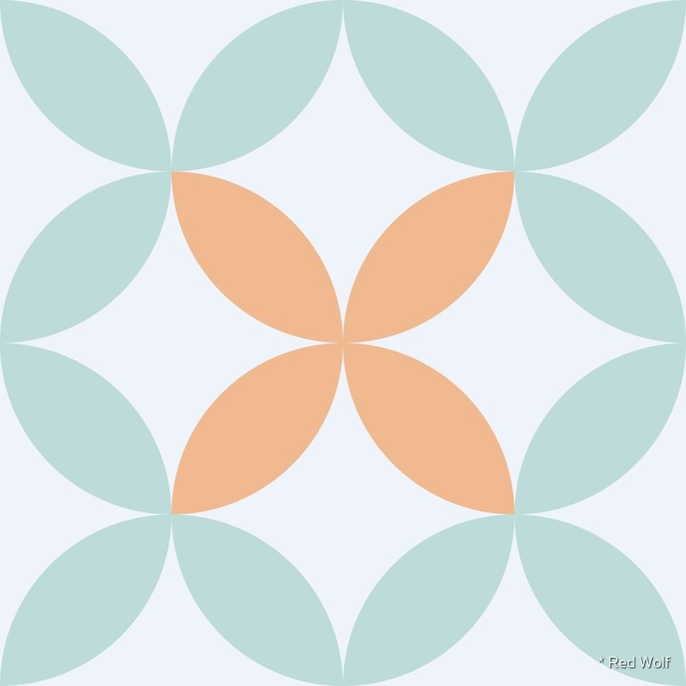 Geometric Pattern: Circle Nested: Gulfstream by * Red Wolf