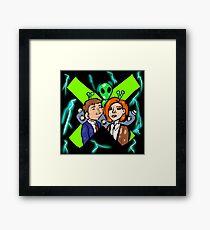 Xfiles Framed Print