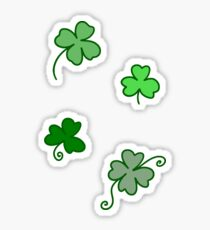 Clovers! Sticker