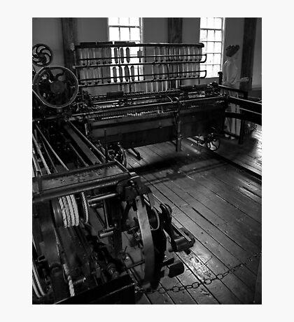 Inside Slater Mill Photographic Print