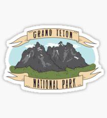 Grand Teton National Park Sticker