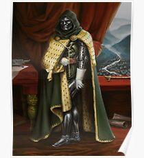 Doctor Doom - Neoclassicism  Poster