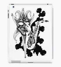 Understanding Music surreal ink pen drawing iPad Case/Skin