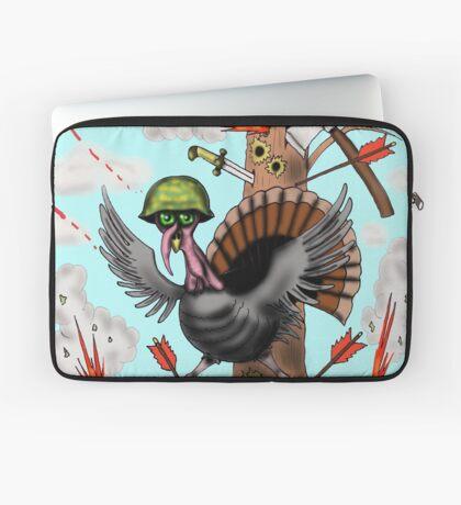 Funny Thanksgiving turkey drawing Laptop Sleeve